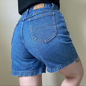 VINTAGE Lee Riders High Rise Denim Shorts 30.5""